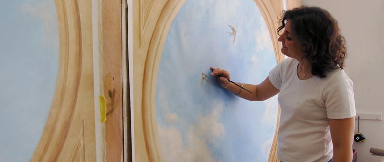 Ecole d 39 art mural de versailles ciel d cor plafonnant for Ecole d art mural