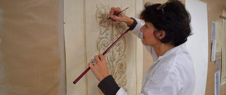 Ecole d 39 art mural de versailles formations la carte for Ecole d art mural